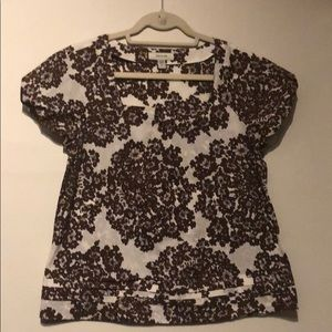 Faconnable 100% Cotton Top Size Small